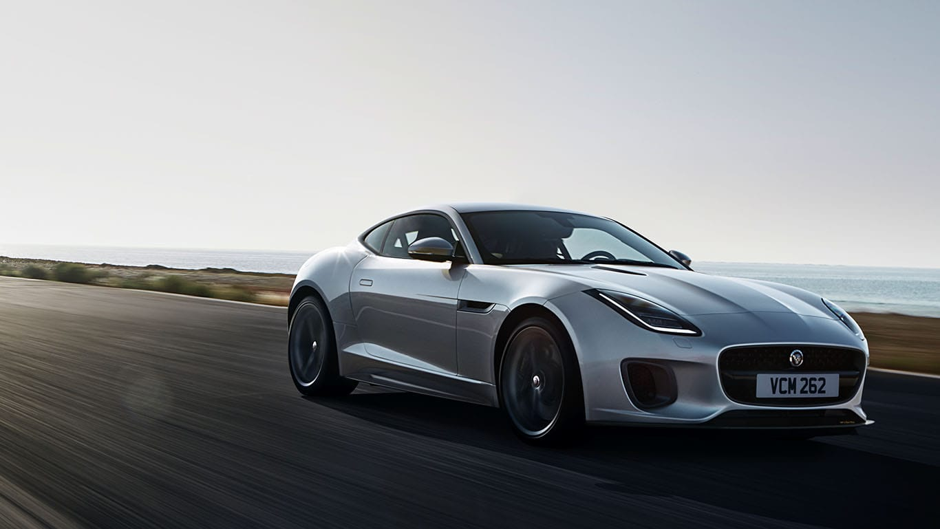 F-TYPE 400 SPORT IN INDUS SILVER WITH OPTIONAL FEATURES FITTED (MARKET DEPENDENT)