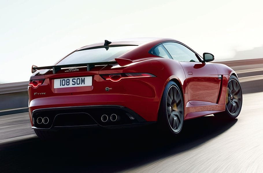 Jaguar Svr >> 2019 Jaguar F Type Svr Coupe 575 Hp V8 Jaguar Usa