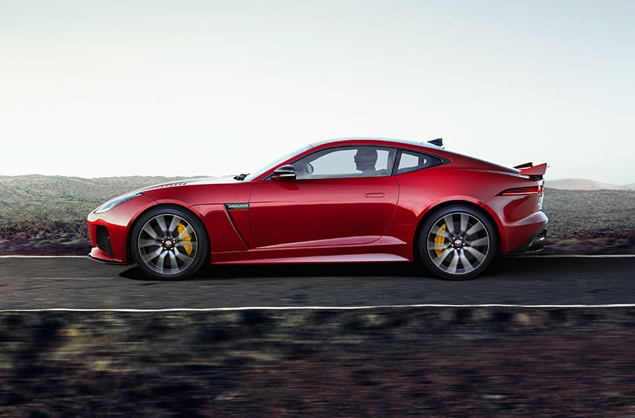 jaguar f type svr coup model performance car. Black Bedroom Furniture Sets. Home Design Ideas