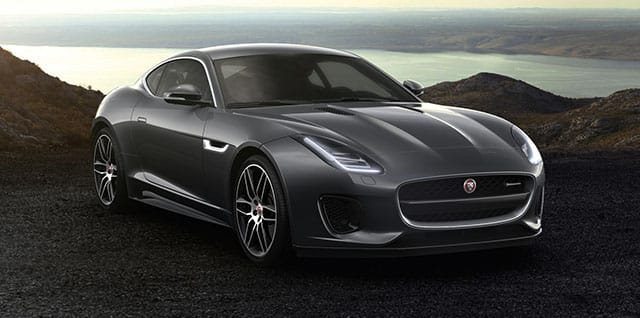 Jaguar F-Type R-Dynamic Coupé.