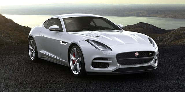 Jaguar F-Type R Coupé.