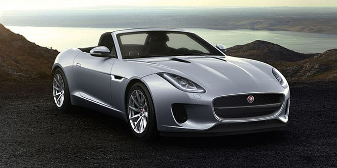 Jaguar F-Type Convertible.