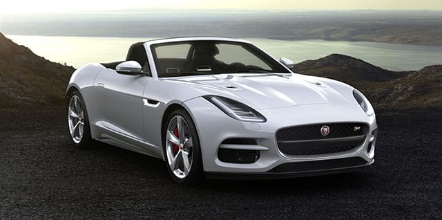 Jaguar F-Type R Convertible.