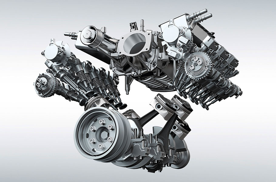 Jaguar 3.0-Liter V6 Supercharged Gasoline Engine