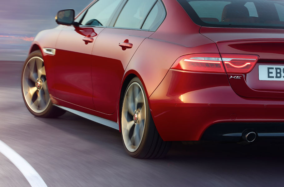 Jaguar XE Rear Haunches