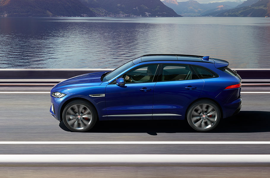 Jaguar F PACE Performance SUV Jaguar F PACE