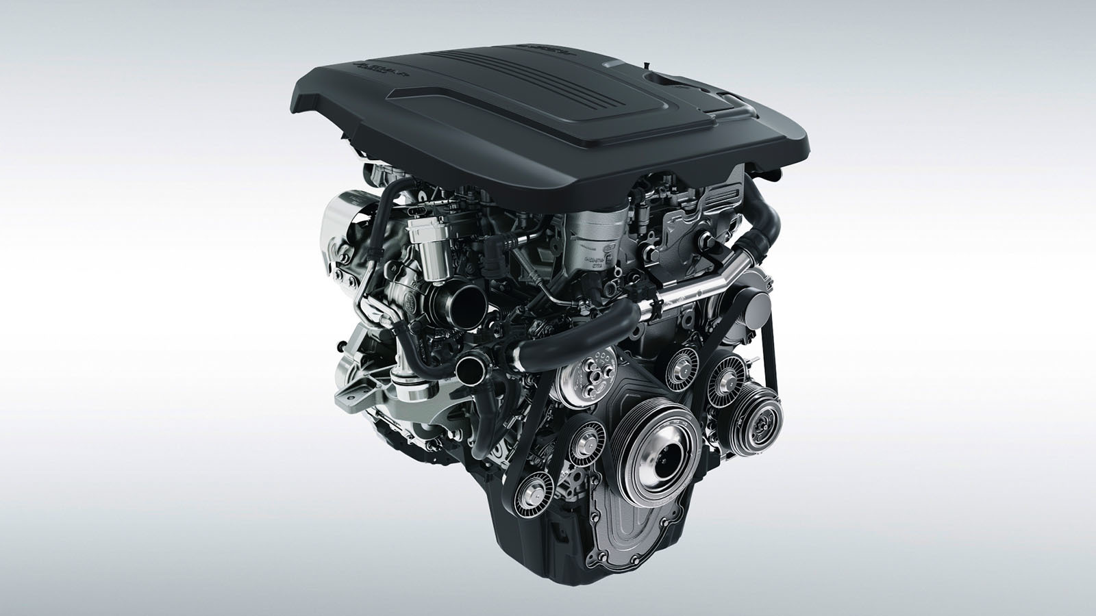 Jaguar 2.0-Liter 4-Cylinder Turbocharged Ingenium Gasoline Engine