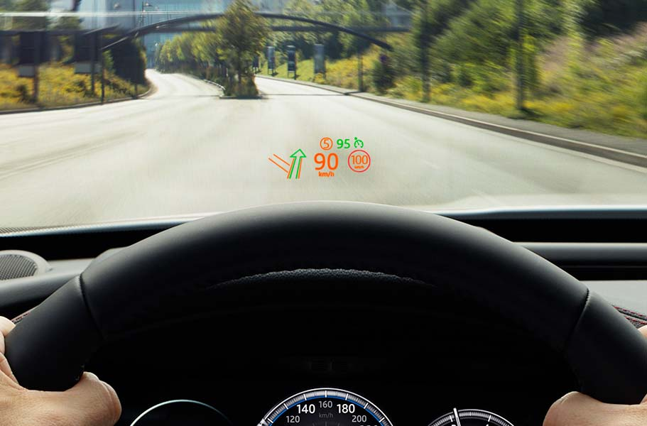 F-PACE Head Up Display