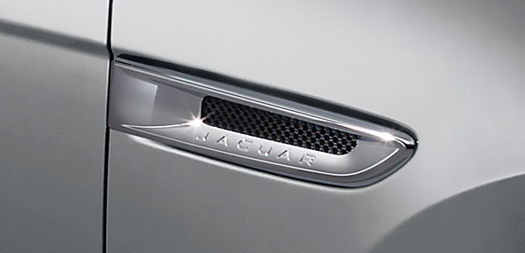 Jaguar Prestige Chorme Side Vents