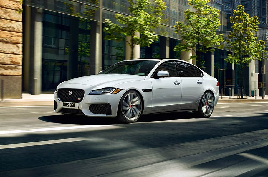 Jaguar XF S on Urban Street