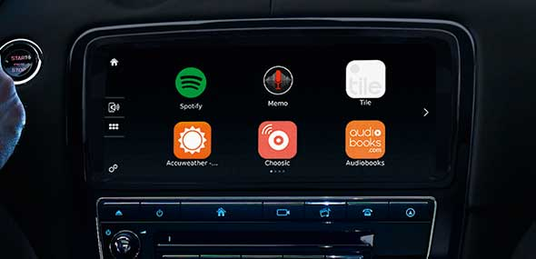 Jaguar XJ InControl Apps