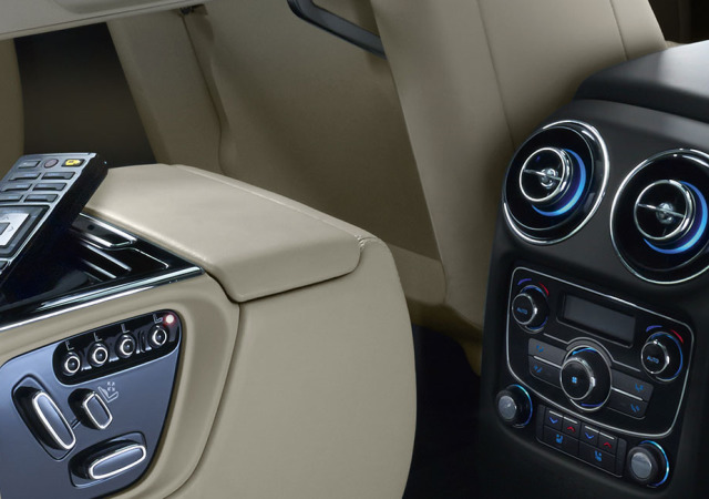 Jaguar XJ advanced in car technology systems