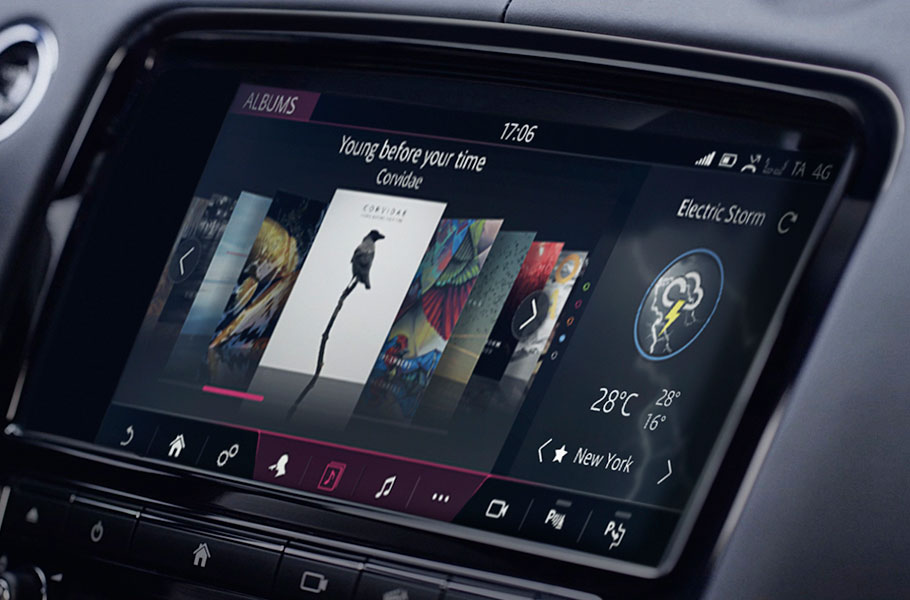 XJ touchscreen control