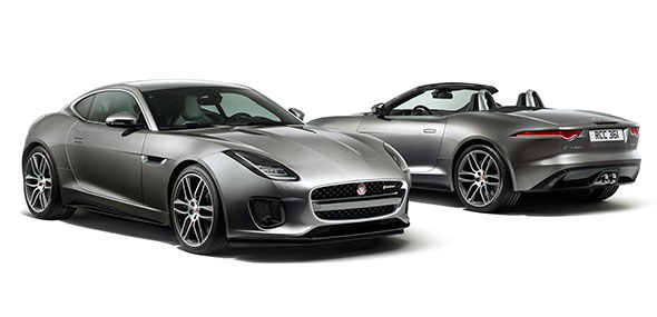 Jaguar F TYPE R Dynamic Exterior Styling Coupe Convertible
