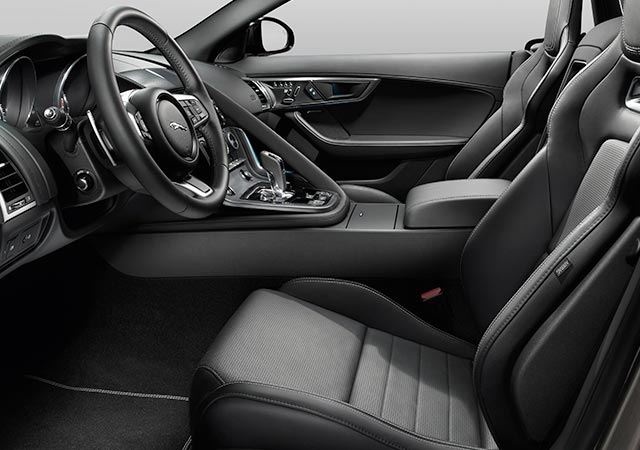 F TYPE Interior Style Luxury Seats