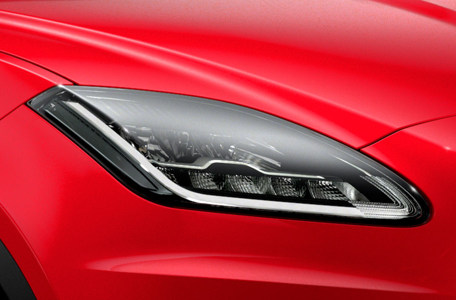 Jaguar E PACE all round exterior LED lighting