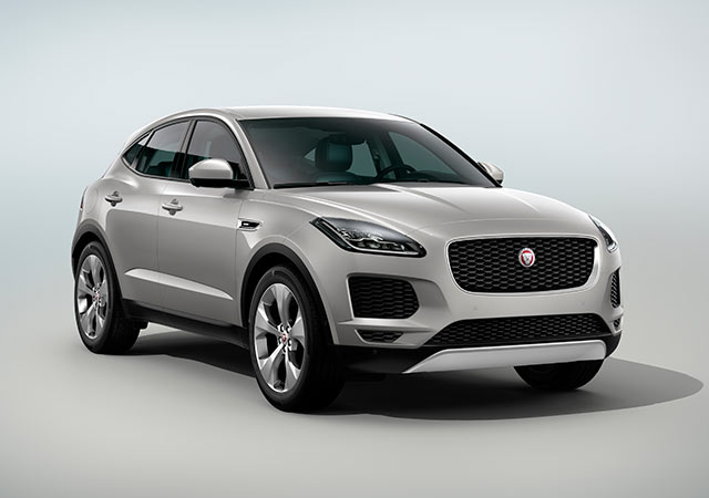 Jaguar Grey E PACE Model