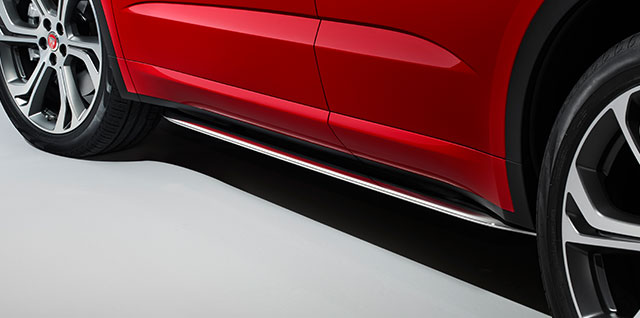 E PACE polished stainless steel side tubes