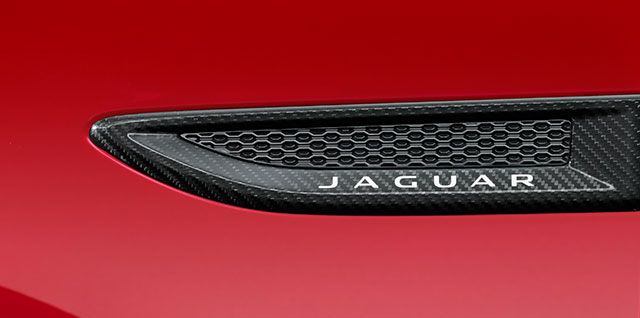 E PACE Carbon Fibre side power vents for performance styling upgrade