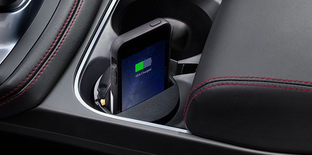 Jaguar E PACE Wireless Charging Cup Holder