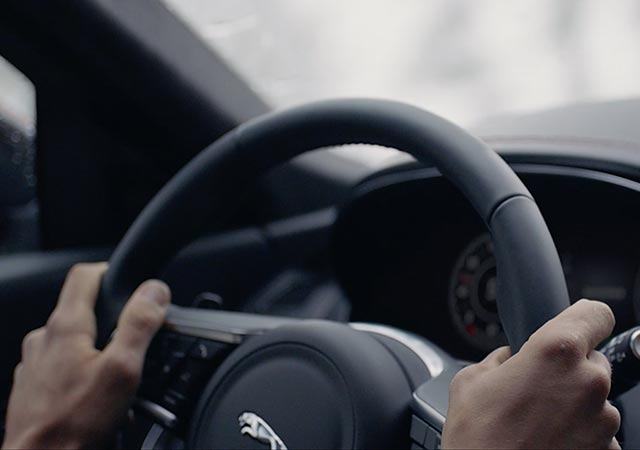 Jaguar E PACE add warmth to winter with heated steering wheel windscreen washer jets