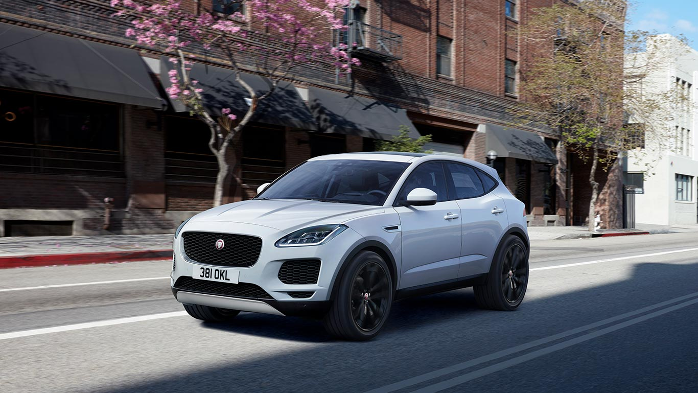 E-PACE S IN BORASCO GREY WITH OPTIONAL FEATURES FITTED