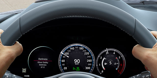 E PACE Interactive Driver Display