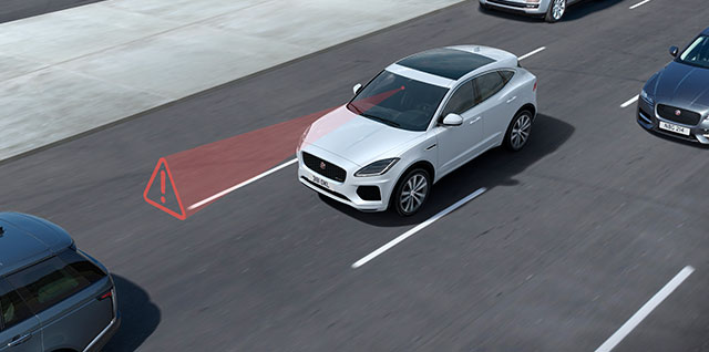 Jaguar Emergency Braking Rear Camera Cruise Control Safety Features