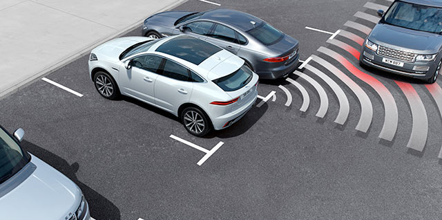 E PACE Jaguar Advanced Driver Assistance Systems
