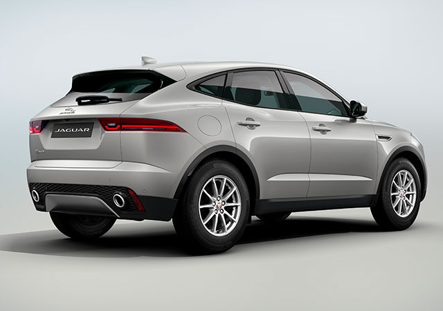 Rear Shot of new Jaguar E PACE