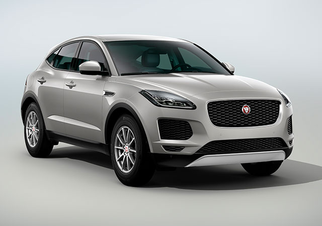 Front Shot of new Jaguar E PACE