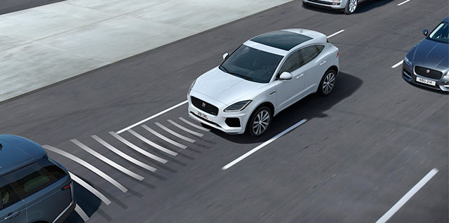InControl Driver Assistance Systems E PACE front sensors