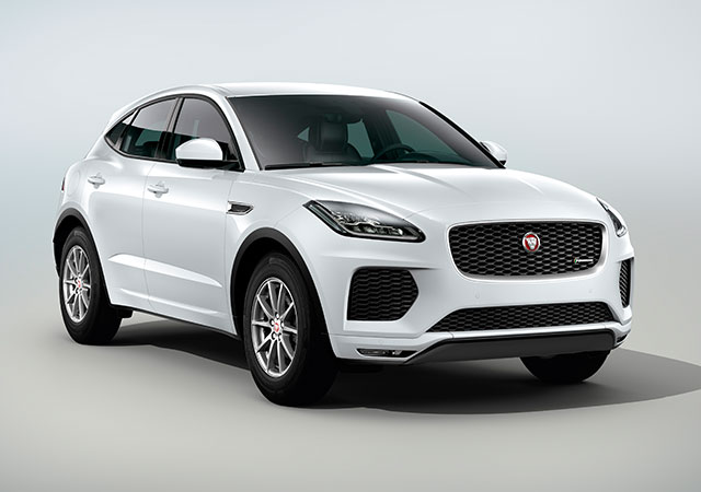 Front Shot of new Jaguar E PACE Dynamic
