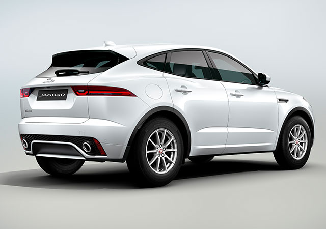 Rear Shot of new Jaguar E PACE Dynamic