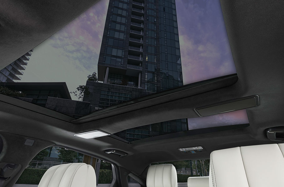 XJ Panoramic roof