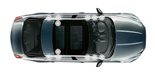 Jaguar XJ Luxury  JAGUAR SOUND SYSTEM (250W)