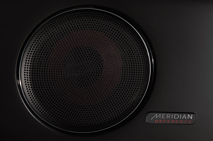 Jaguar Meridian 825W Surround Sound Black Panel Speaker