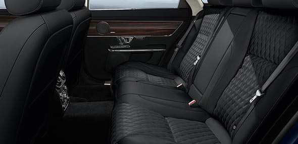 Jaguar XJL Portfolio Rear Interior