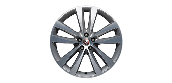Jaguar XJ R-Sport 20 inch 5 split-spoke 'Style 5045' alloy wheels