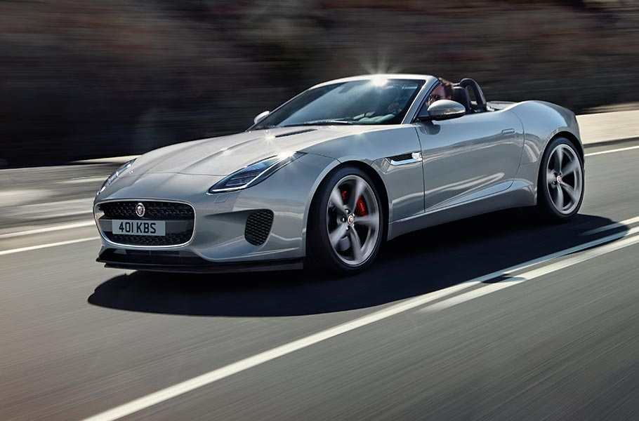 Jaguar F TYPE | Convertible Model | Jaguar Sports Car