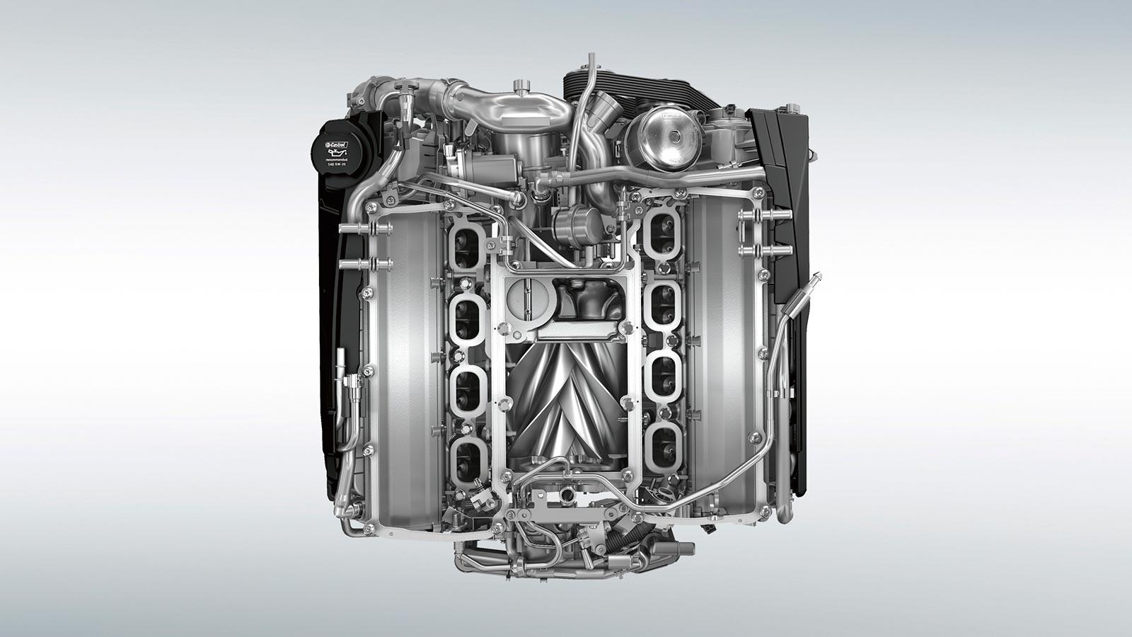 5.0-Liter V8 Supercharged Gasoline Engine