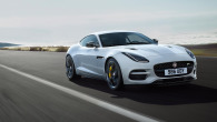 F-TYPE R NEL COLORE YULONG WHITE CON SILVER WEAVE CARBON FIBRE PACK