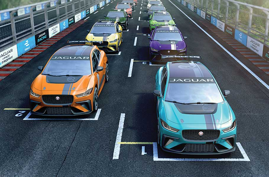Bobby Rahal Land Rover >> Jaguar I-PACE eTROPHY - Electric Street Racing | Jaguar USA