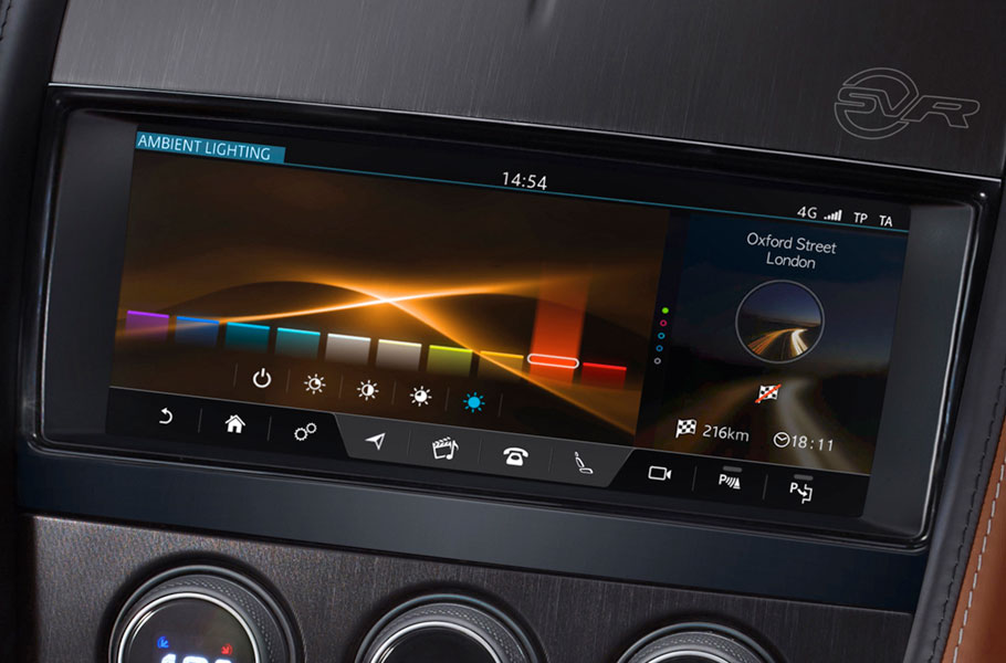 F-Type Configurable Ambient Lighting