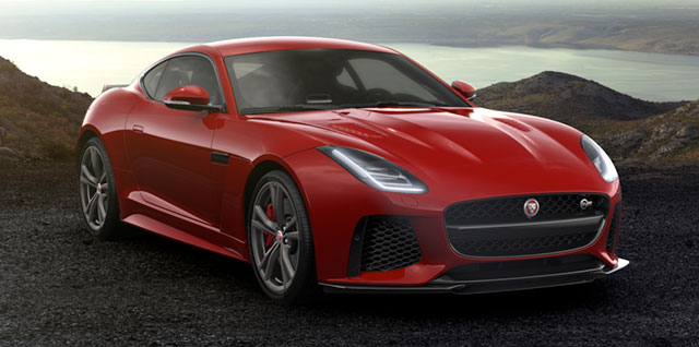 jaguar news overview performance daily specifications front photos f quarter pace svr autos blue ny left