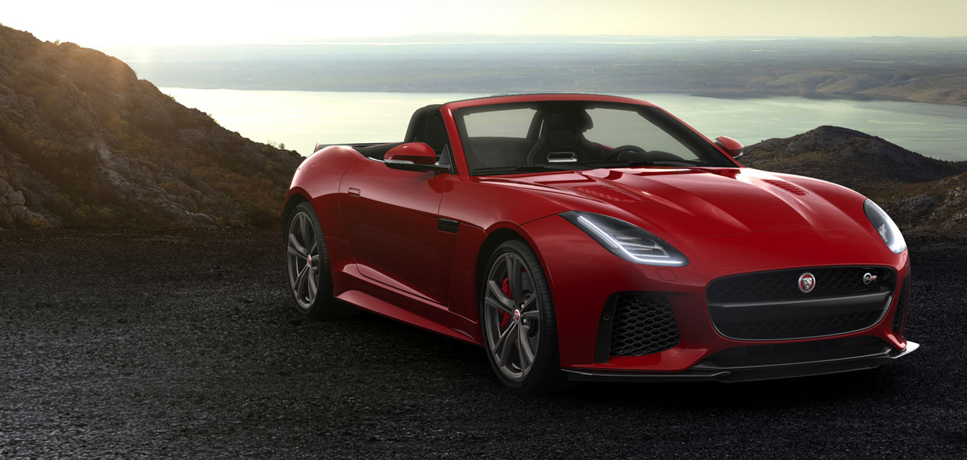 Charmant Jaguar F TYPE SVR | Convertible Model | Jaguar Sports Car