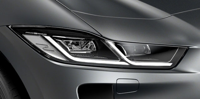 Jaguar I-Pace Matrix LED Headlights