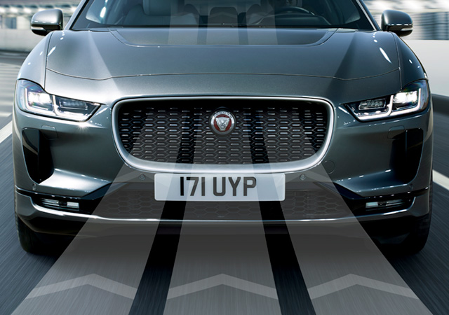 Jaguar I-Pace Bonnet Scoop