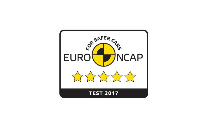 E PACE awarded maximum 5 Star rating in Euro NCAP 2017 safety tests