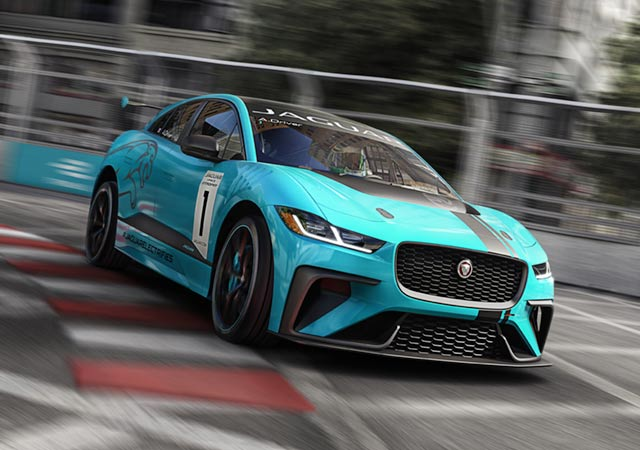 Jaguar I-Pace Race To Innovate